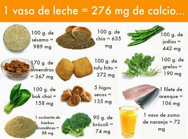 Los 10 mejores alimentos ricos en calcio medicina natural - Alimentos naturales ricos en calcio ...