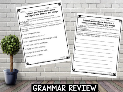 Grammar review 2 pages