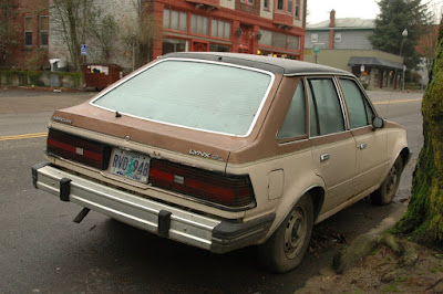 1982 Mercury Lynx GL 5-door hatchback