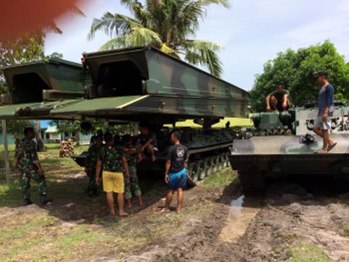 Tank Leopard 2a4 TNI AD