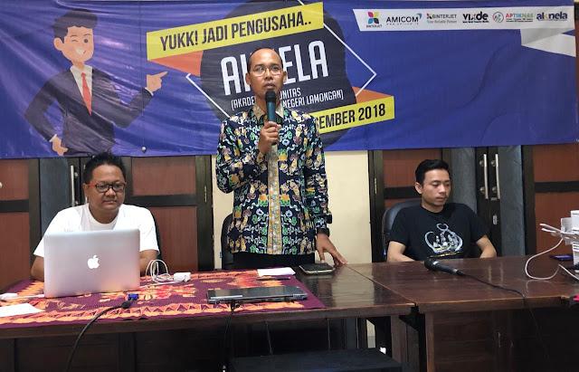 "Kegiatan Roadshow APTIKNAS Jawa Timur 27 Des 2018 ""Yuk Jadi Pengusaha"""