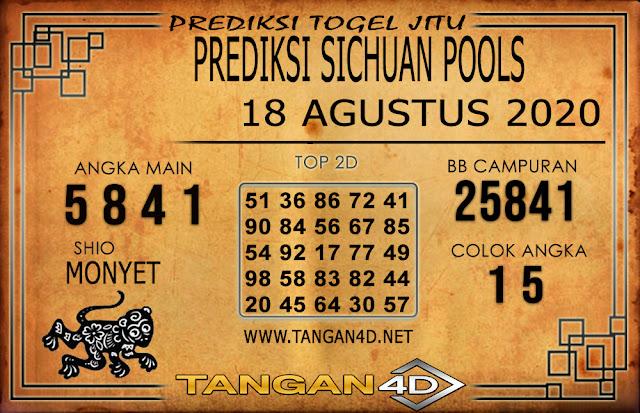 PREDIKSI TOGEL SICHUAN TANGAN4D 18 AGUSTUS 2020