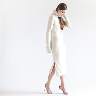 Turtleneck Dress Sweater Modern Citizen