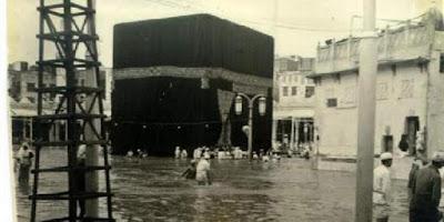 Ternyata Ka'bah Pernah Terendam Banjir