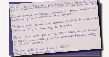 jsp lettre de motivation scénario anticrise: Lettre à ma fille jsp lettre de motivation