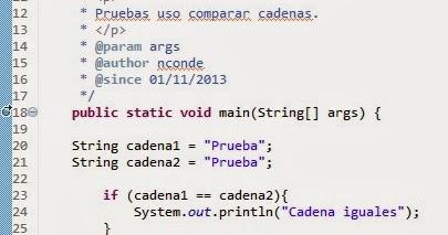 69a5f002aa0 Java Player - ¿Como comparar cadenas? - ¿Como comparar dos String? -  Diferencias entre equals() y == - ¿Como usar el compareTo()? - ¿Como usar  el ...