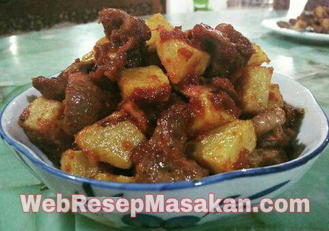 Sambal Goreng Ati Ampela, resep sambal goreng ati ampela kentang,