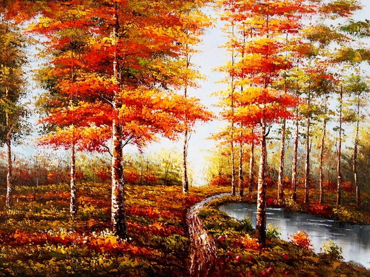 Imágenes Arte Pinturas: Cuadros De Paisajes Al óleo