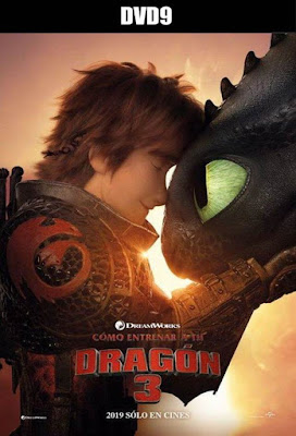 How To Train Your Dragon 3 2019 DVD9 R1 NTSC Latino