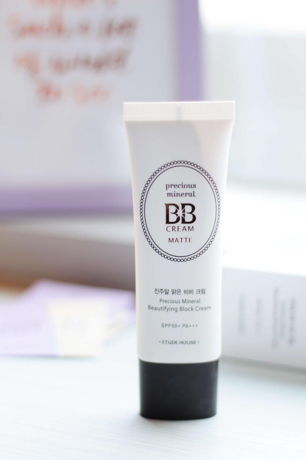 korean beauty haul etude house precious mineral bb cream matte