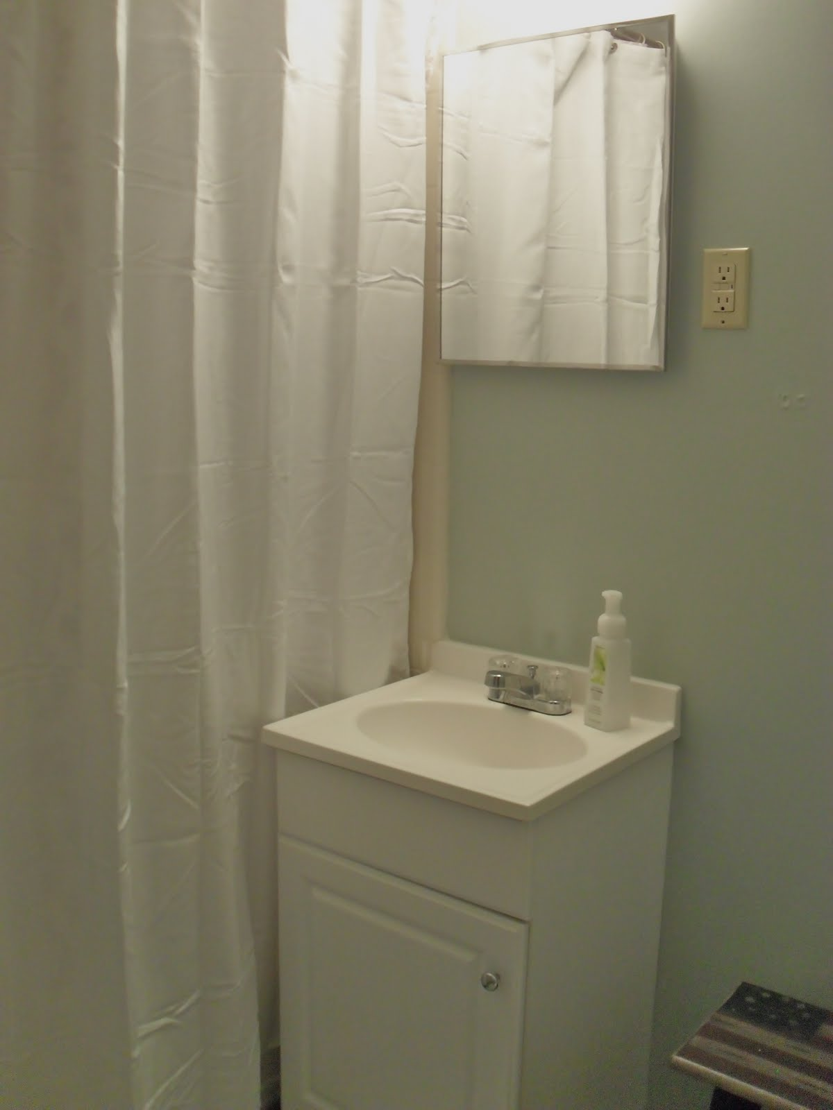 Sage Green Bathroom: The Remodeled Life: Progress Makes Perfect