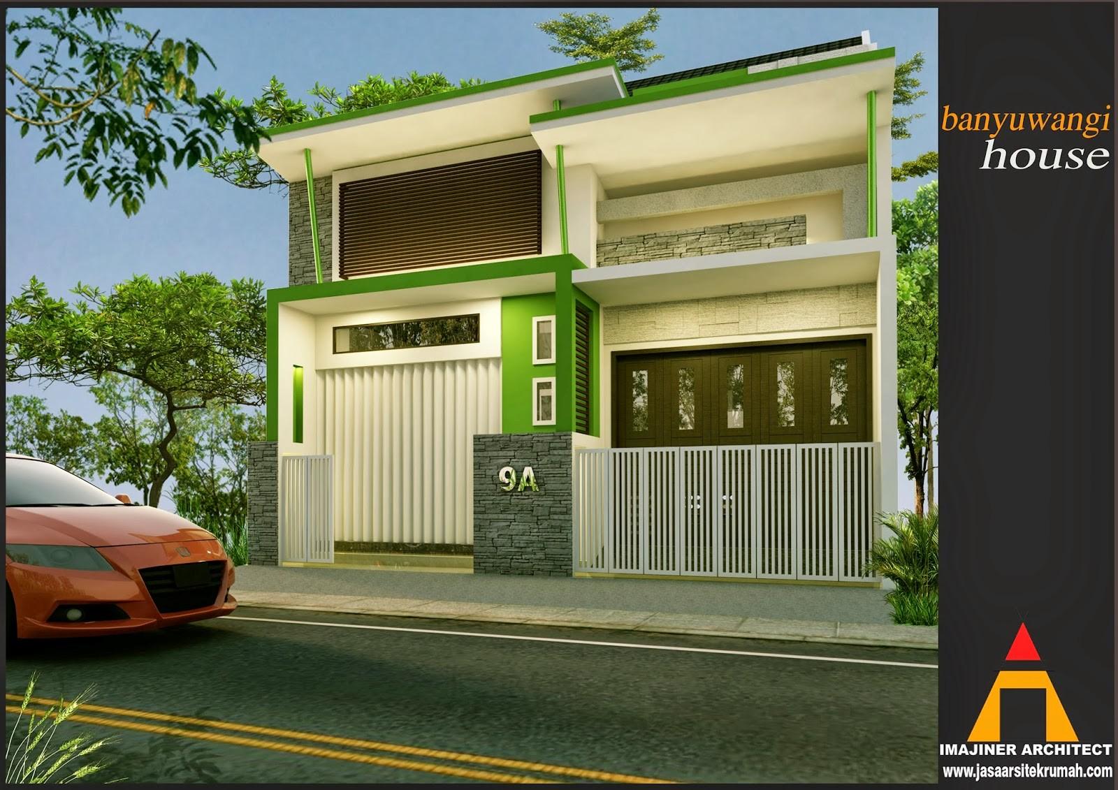 bentuk rumah yang memiliki toko 1
