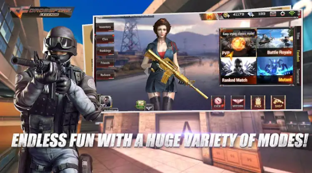 CrossFire : Legends Mobile Game (724MB) Apk+OBB Download For Android