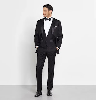 K'Mich Weddings - wedding planning - tuxedo - Newman outfit