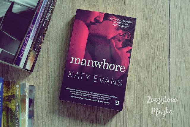 """Recenzja #163 - Katy Evans """"Manwhore"""""""