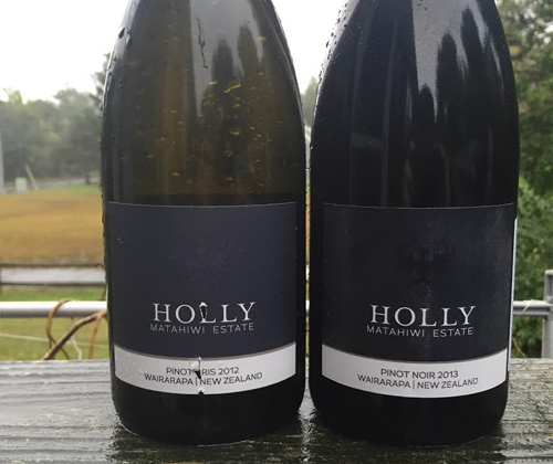 Matahiwi Estate Holly Wairarapa Pinot Gris 2012 & Holly Wairarapa Pinot Noir 2013