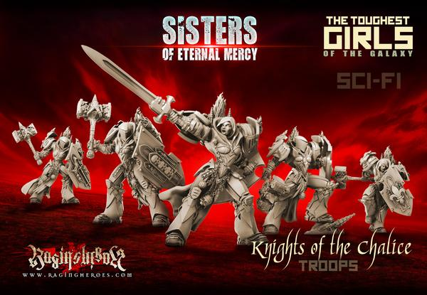 Raging Heroes Sisters of Eternal Mercy Review + Giveaway