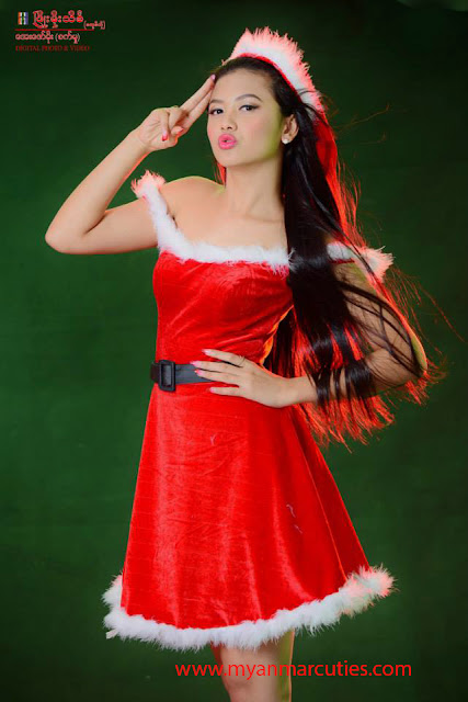 Shwe Hmone Yati Christmas Fashion