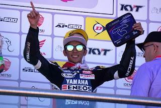 Walaupun Sempat Ga Kontrol Motor, Wahyu Aji Raih Podium 3 di Race 1 UB150 ARRC Australia 2018