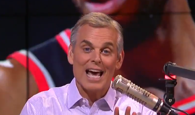 Colin Cowherd (Photo via @ColinCowherd)