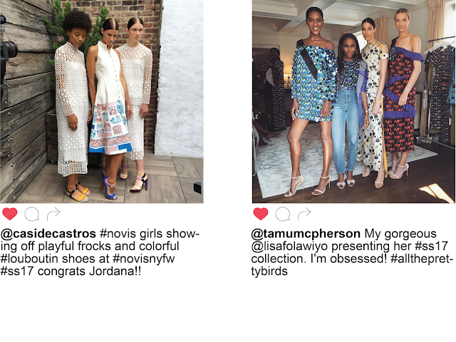 NYFW New York Fashion Week Day Two Instagram  Novis Lisa