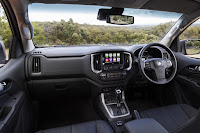 Holden Trailblazer LTZ (2017) Dashboard