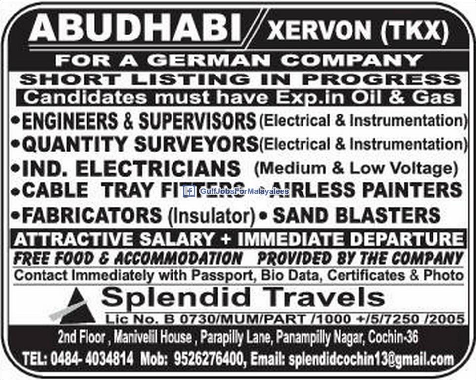 Job Hiring Abu Dhabi