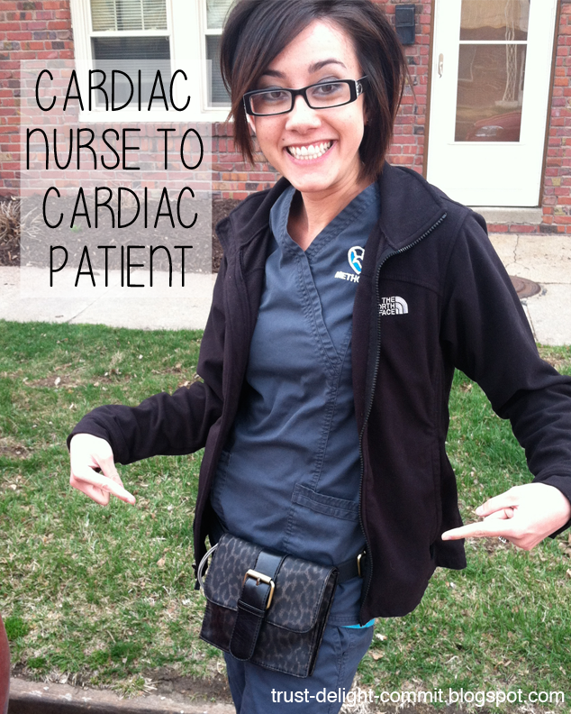 cardiac nurse to cardiac patient