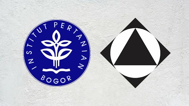 Logo IPB dan Itenas