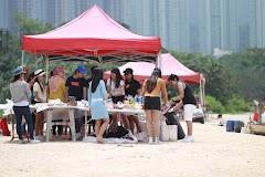 BBQ BERSAMA TEMAN  TEMAN DI WU KAI SHA  MAK ON SHAN  HONGKONGA