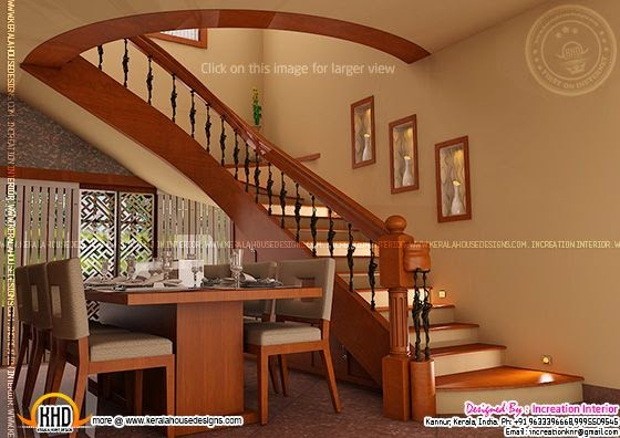 Dining+stair design