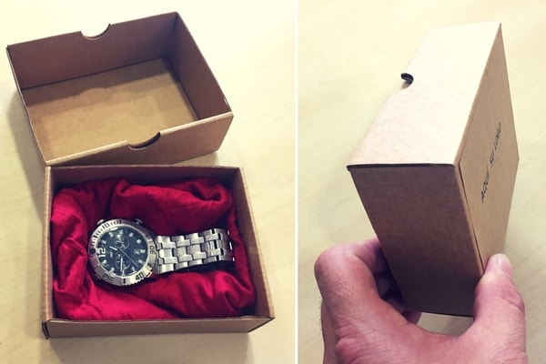 cajas para envios de relojes