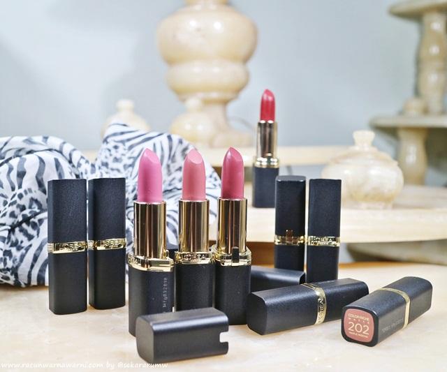 Review L'oreal New Color Riche Matte Lipstick