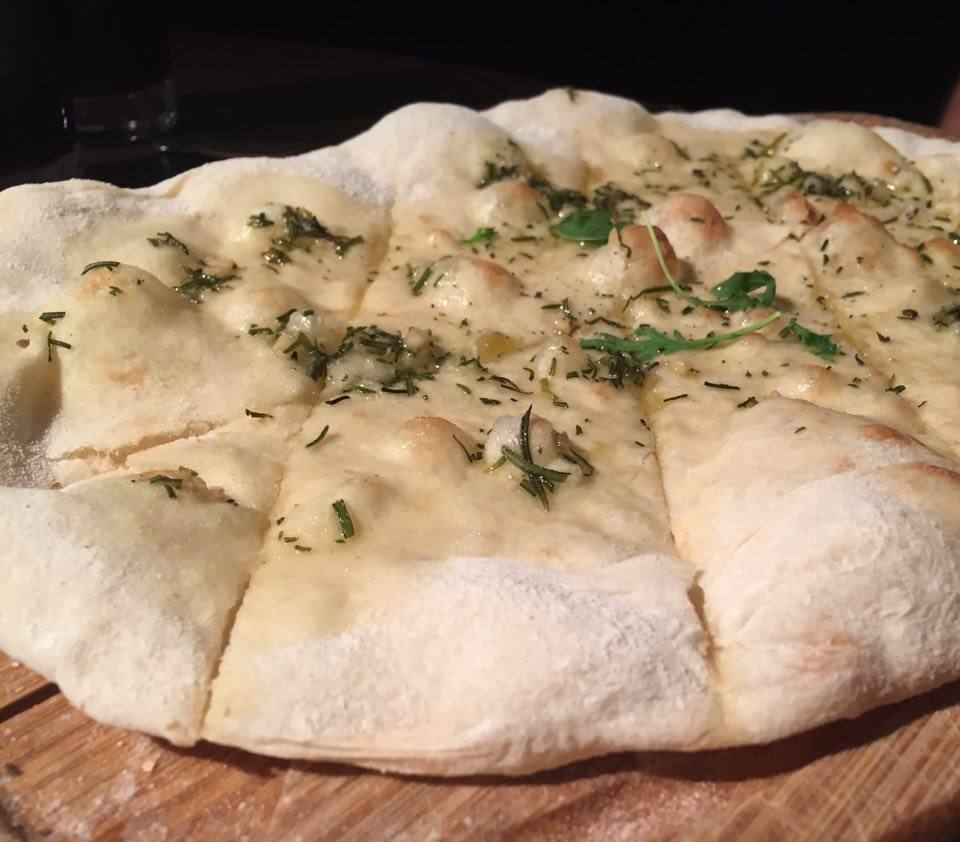 Pizza Making at Babucho Newcastle | Children's Menu & Lunch Review - Rapido Menu - Garlic, rosemary and sea salt foccacia