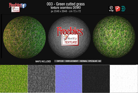 Royalty Free green cutted grass texture seamless and maps