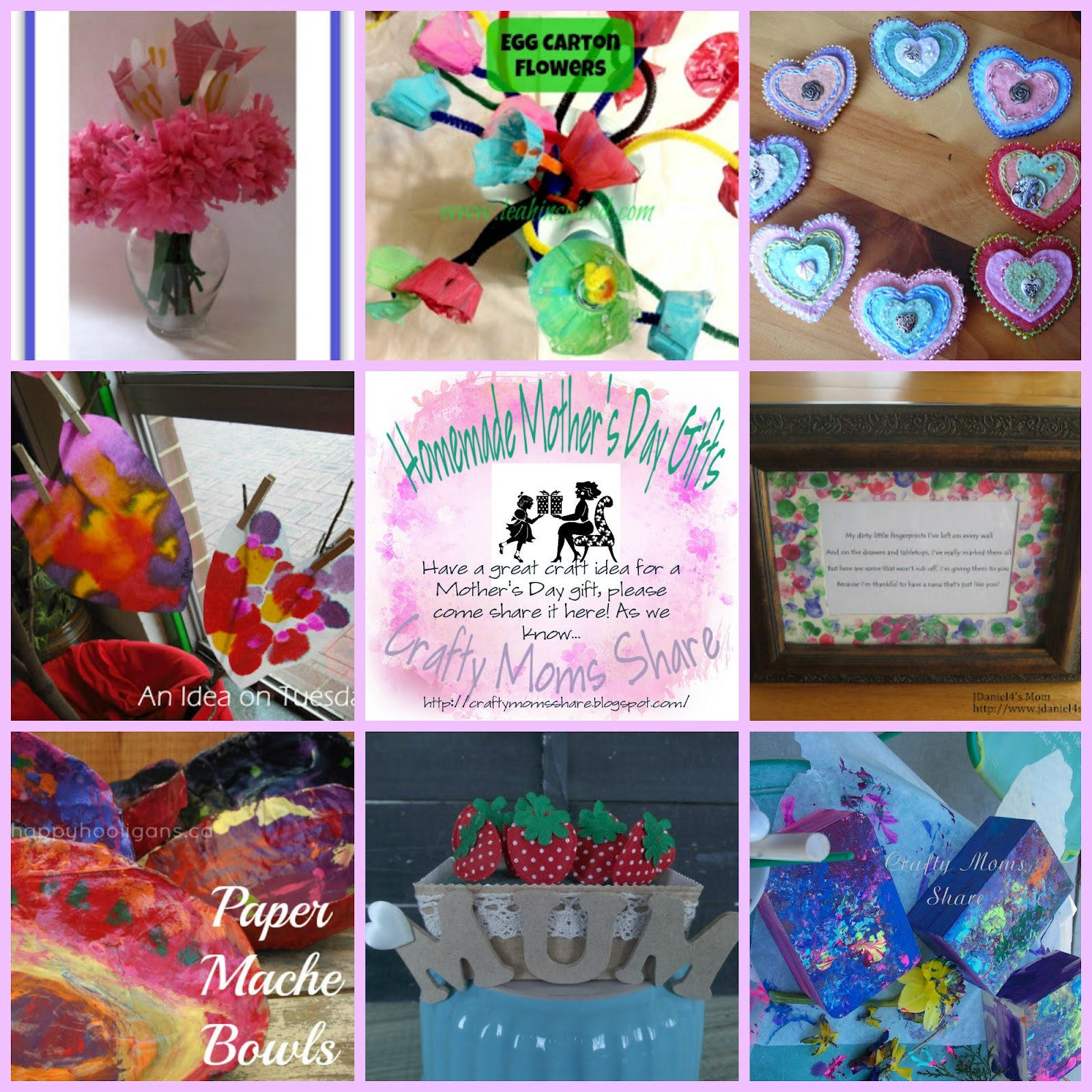homemade mothers day gift ideas