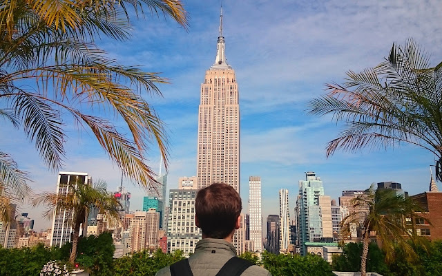 New York, 230-fifth roofgarden