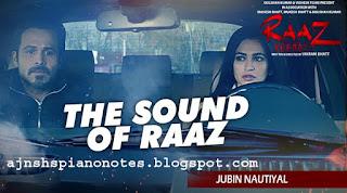 Sound Of Raaz Sargam Piano Notes | Raaz Reboot Full