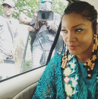 Nollywood actress Omotola Jalade-Ekeinde shares stunning new photos of herself