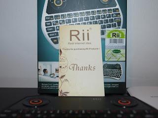 Análise Teclado Rii Mini One i28 6