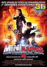 pelicula Mini Espias 4: Los ladrones del tiempo (Spy Kids 4: All the time in the world) (2011)