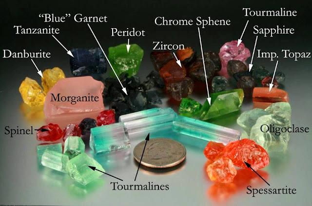 Color or Clarity of Gemstones Is Altered