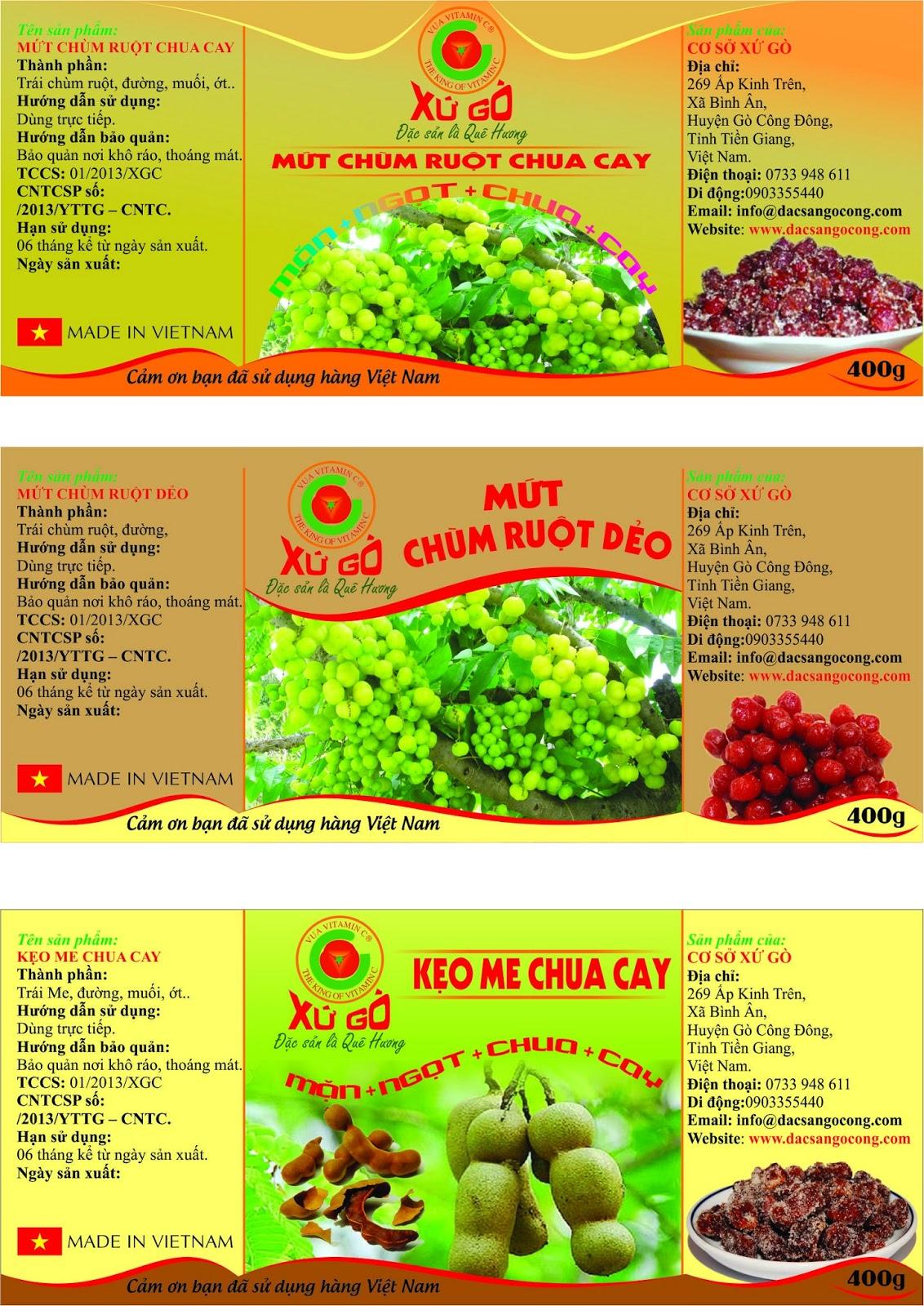 In Tem Nhãn Decal Bánh Kẹo Số Lượng Ít Quận Tân Phú - CÔNG TY QUANG MINH