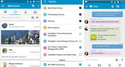 Download BBM Mod Apk v3.0.0.18 Terbaru 2016