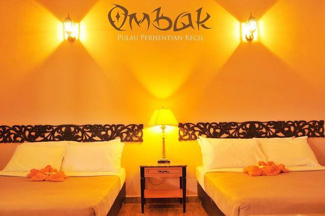 Pakej Pulau Perhentian Kecil Ombak Resort 2016