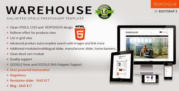 Best Bootstrap Prestashop Theme