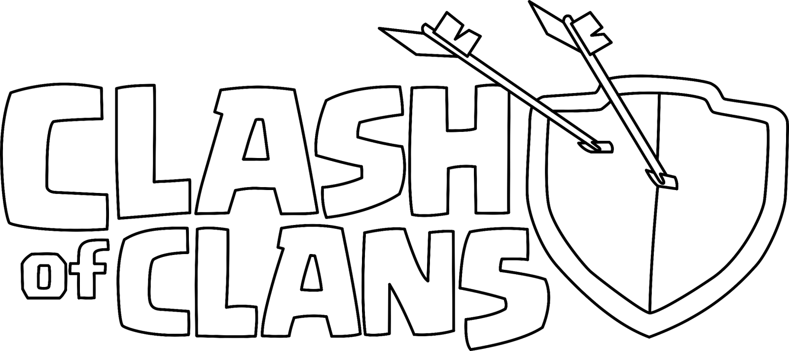 Clash of Clans logo png