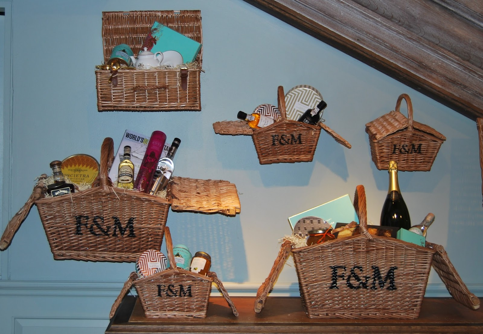 Christmas 2015 at Fortnum and Mason's, photo by Modern Bric a Brac