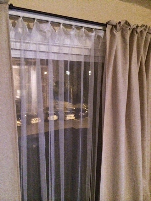 hiding vertical blinds