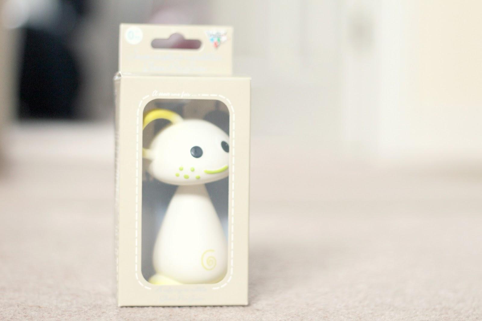 Pie Soft toy to chew  VULLI  Chan Pie Gnon design Pink teether NEW